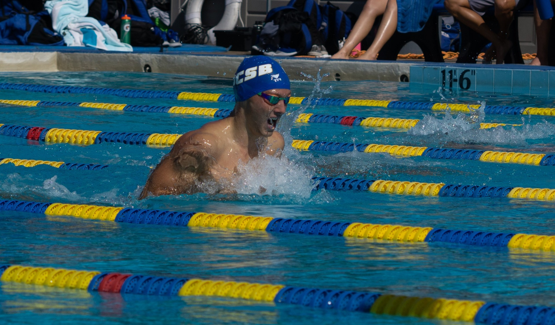 Gauchos Start Off Strong in the Pool at UNLV