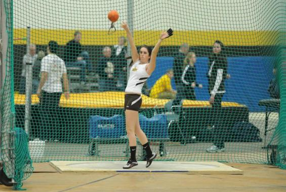 BW Throwers Finish Indoor Season at Kent State Open Meet