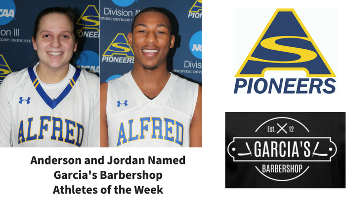Garcia's Athletes of the Week - Ray Anderson and Dante Jordan