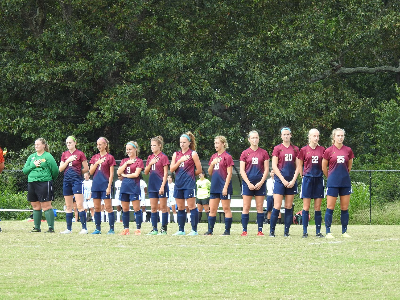 Women's Soccer Back In Action