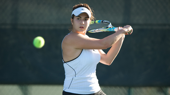 WOMEN'S TENNIS SWEEPS EASTERN WASHINGTON AND PORTLAND STATE