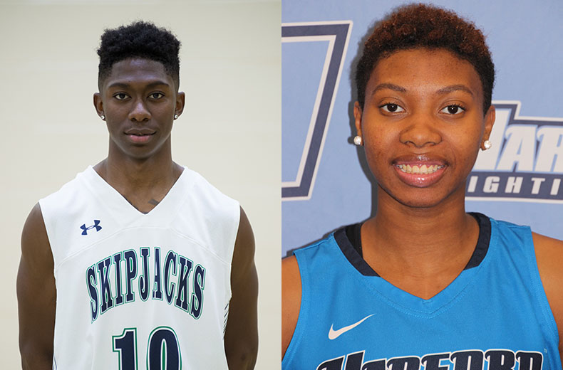 Maryland JUCO Names Tate, Holder February Student Athletes of the Month