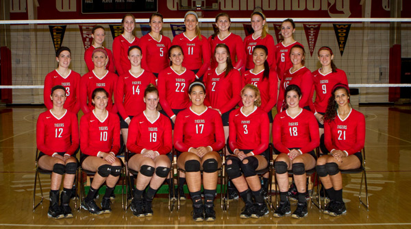 2013 Wittenberg Volleyball