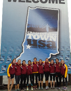 Athenas Finish Second At Pre-Nationals Invitational