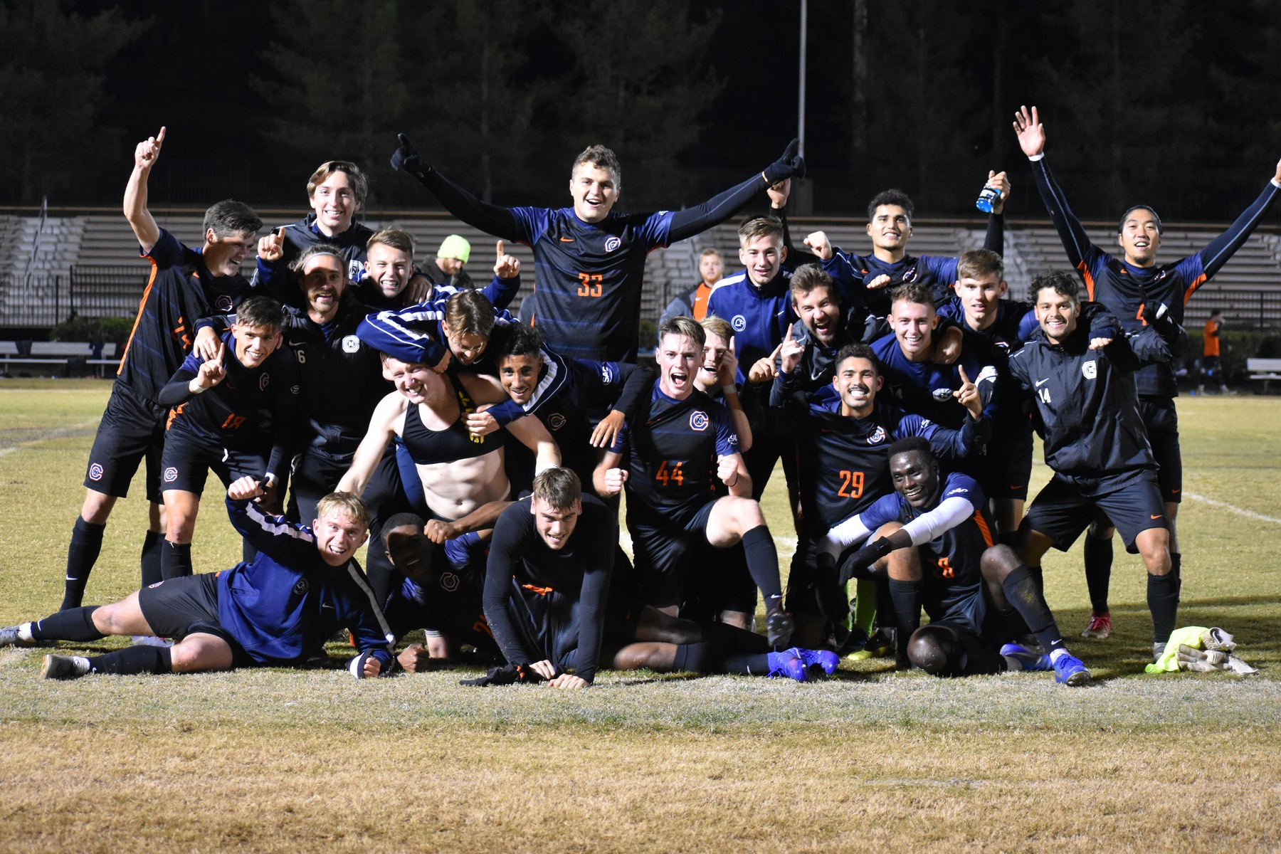 SAC CHAMPS! C-N draws at Tusculum for share of title
