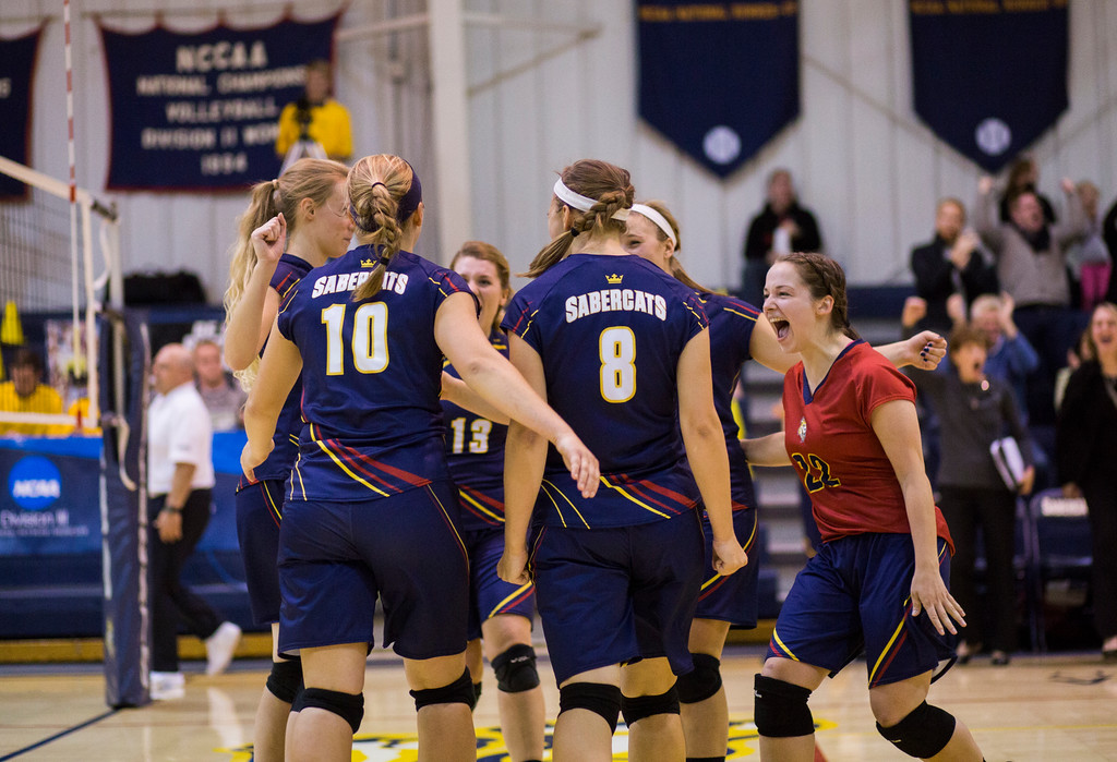 Only Perfect: Sabercats Win DII Title With Five Straight Sweeps