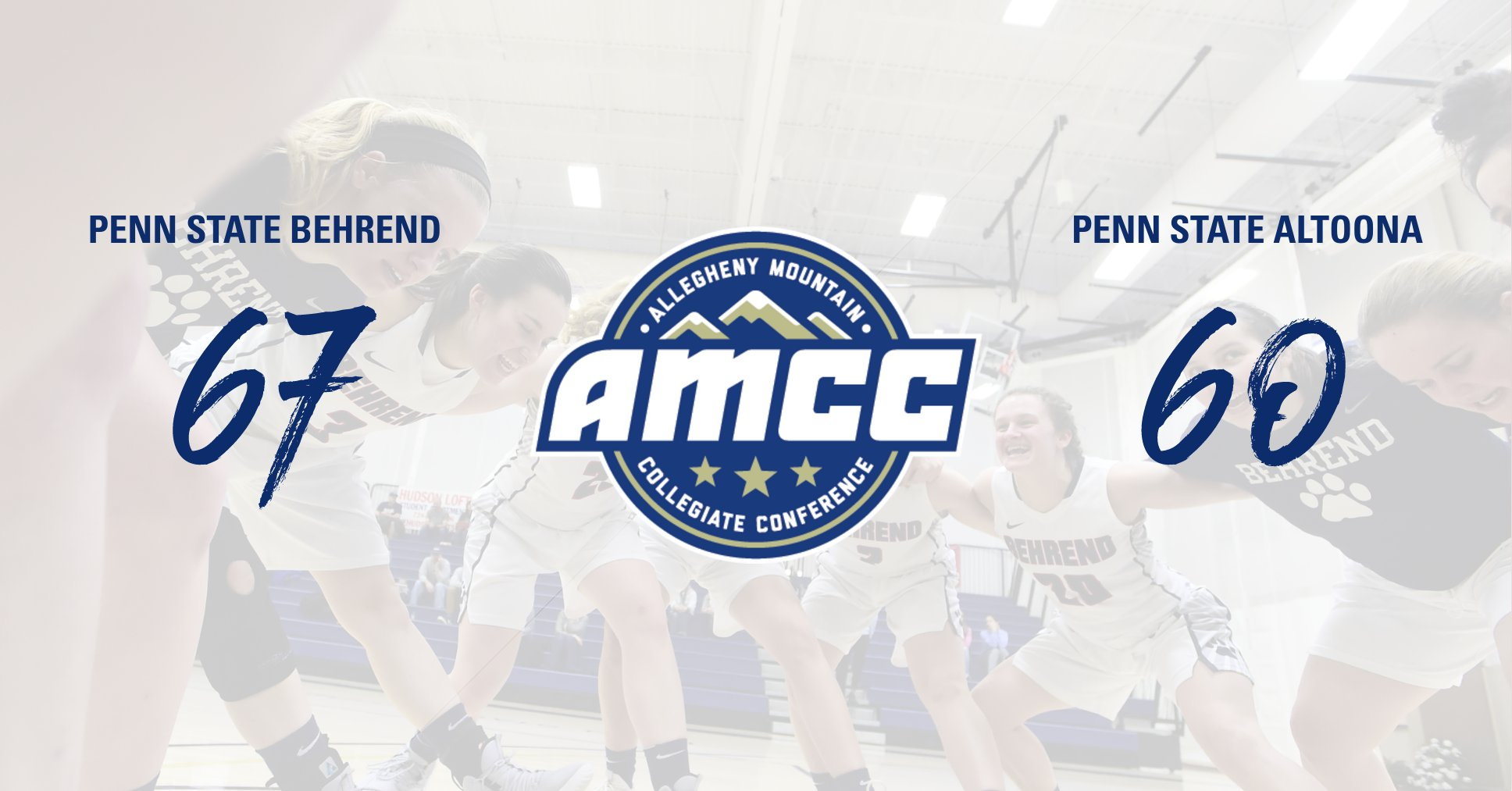 Lions Come Back to Upset Penn State Altoona to Advance to AMCC Semfinals