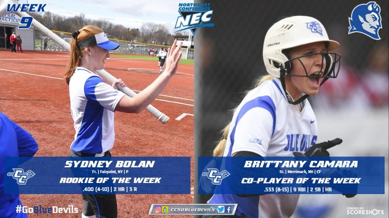 Camara, Bolan Take Home Northeast Conference Weekly Honors