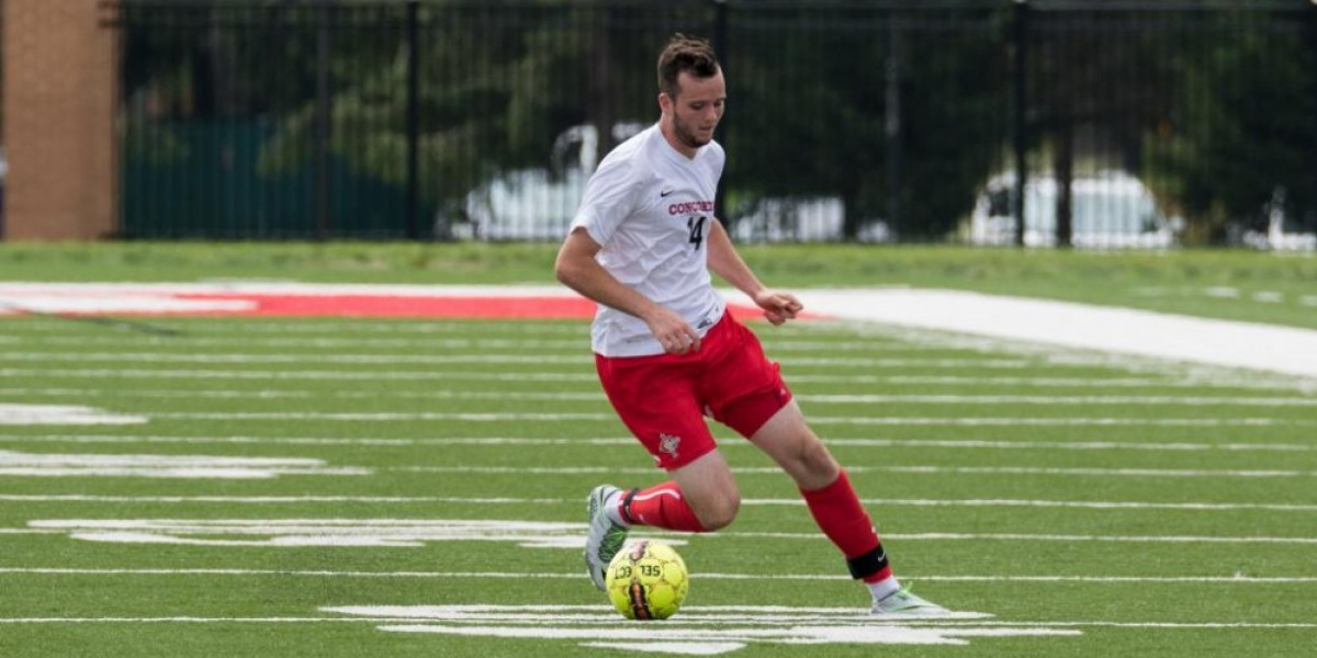 Photo for Men's soccer drops first conference game to Indiana Tech