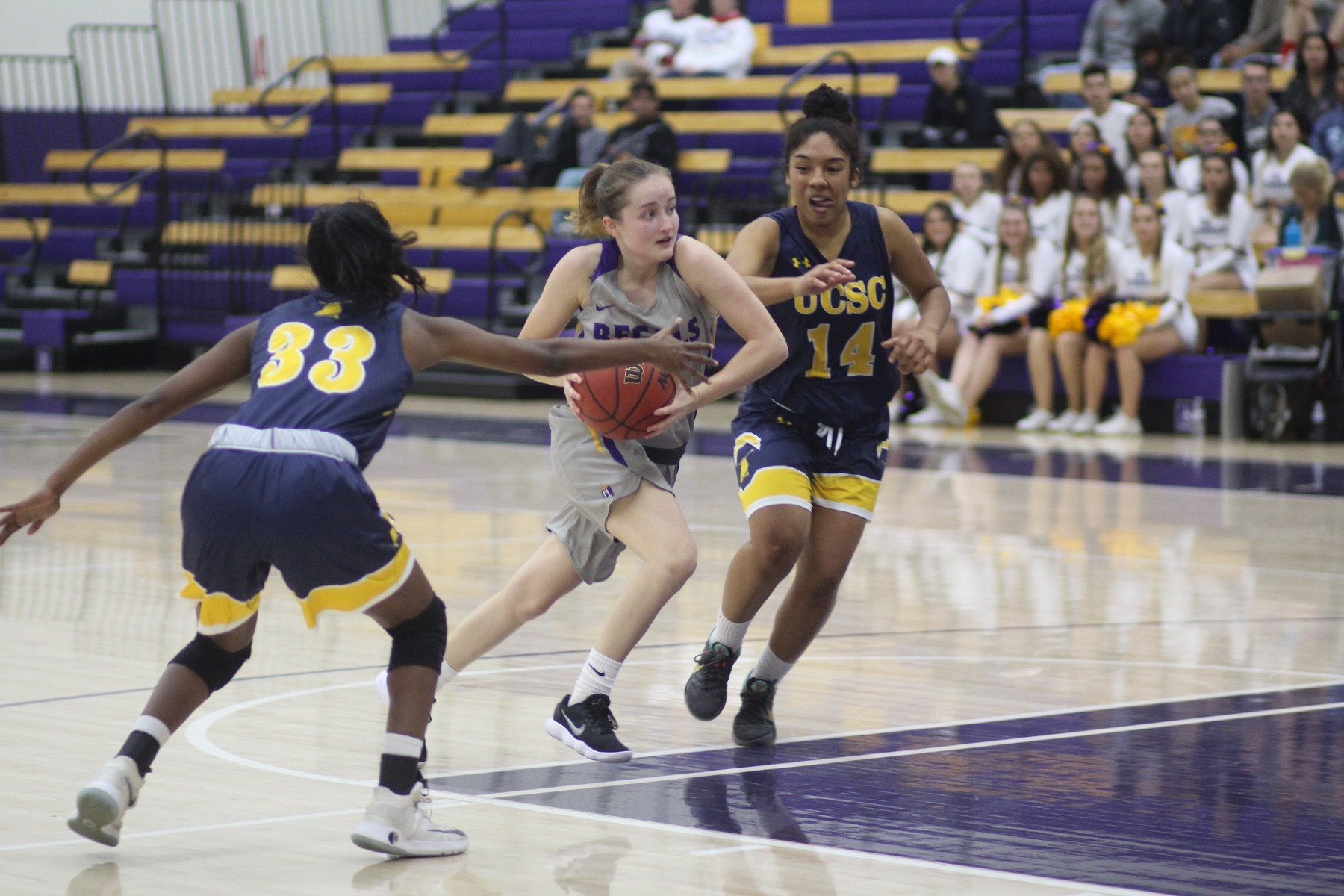 Ruhl Beats the Buzzer to Give Regals 61-58 Win Over Whittier