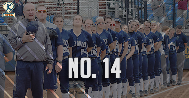 Softball ranked No. 14 in final 2018 NFCA DIII Top 25 Poll