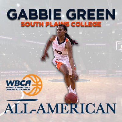 Gabbie Green named to Women's Basketball Coaches Association All-American Team