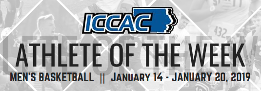 ICCAC Athlete of the Week