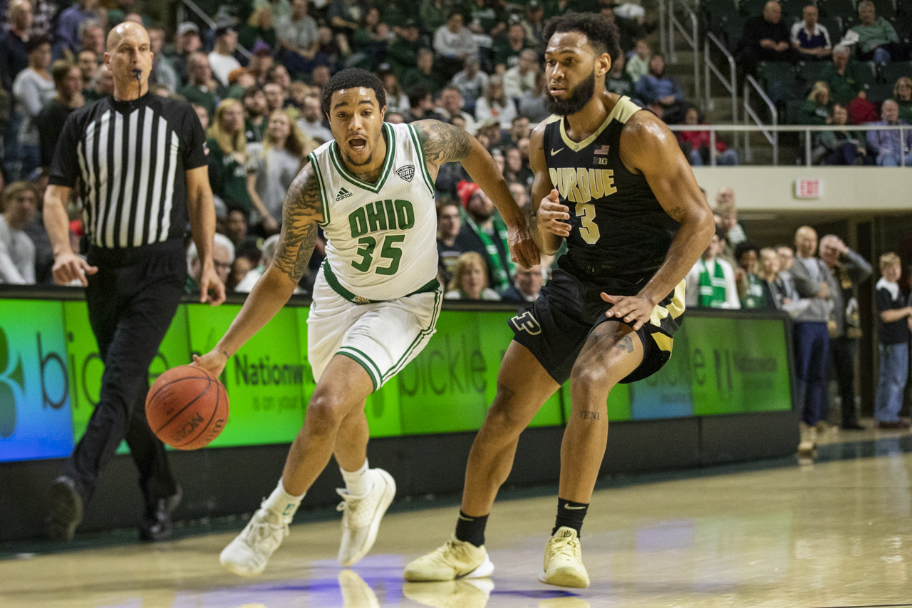 Ohio Men's Basketball Falls to Purdue at Home