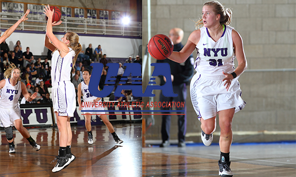 UAA Announces Women's Basketball All-Association Team; Kaitlyn Read of NYU Earns Top Two Honors