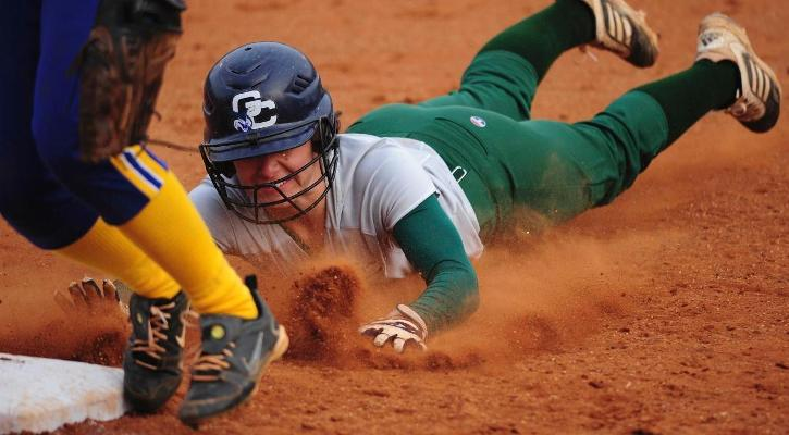GC Softball Gets Split With Braves