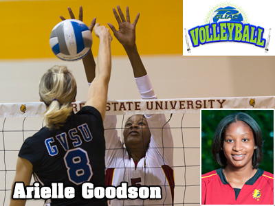 Arielle Goodson Tabbed As GLIAC North Division's Player of the Week