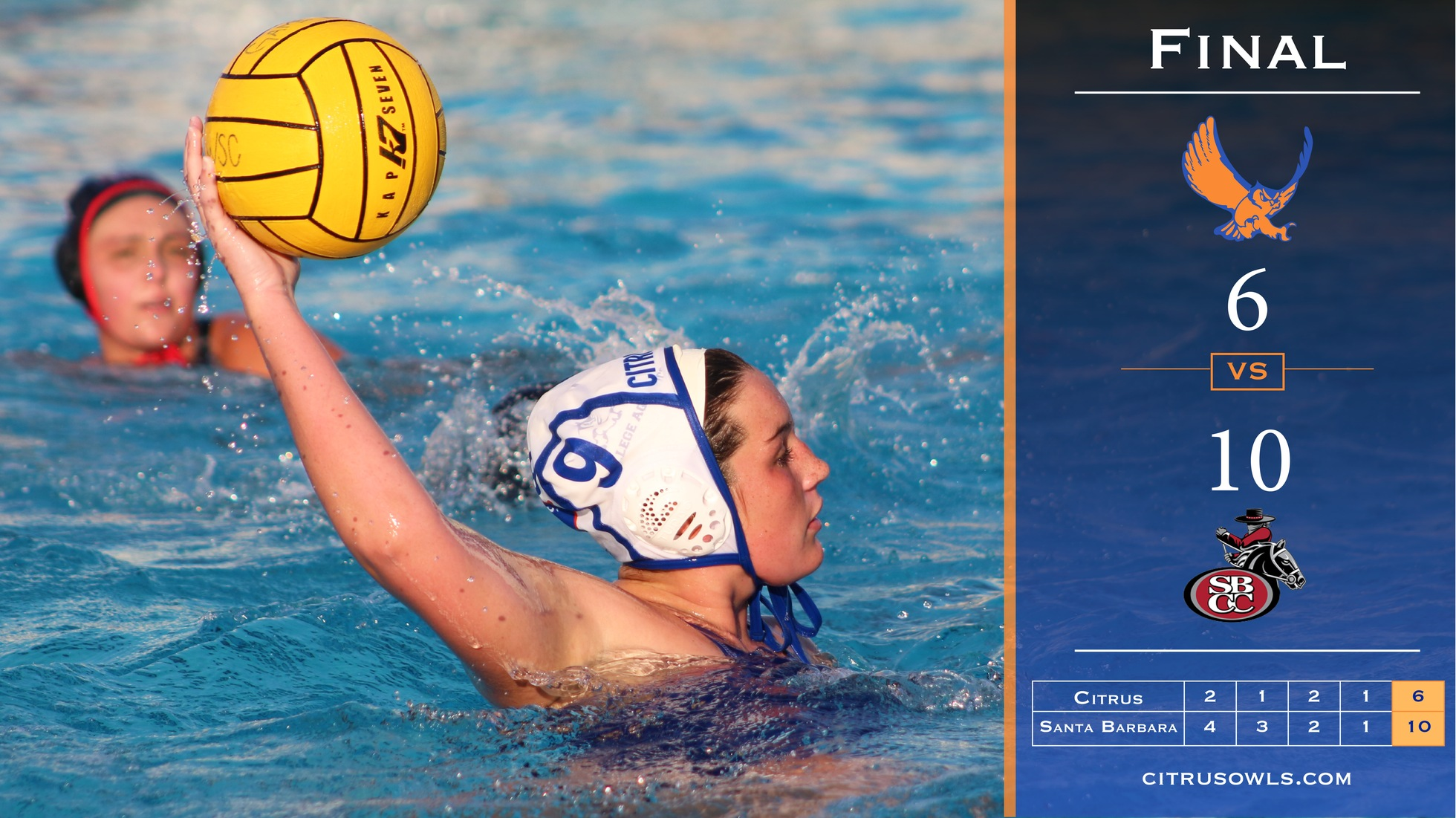 Women's Polo Comes Up Short In Conference Final Loss To Santa Barbara
