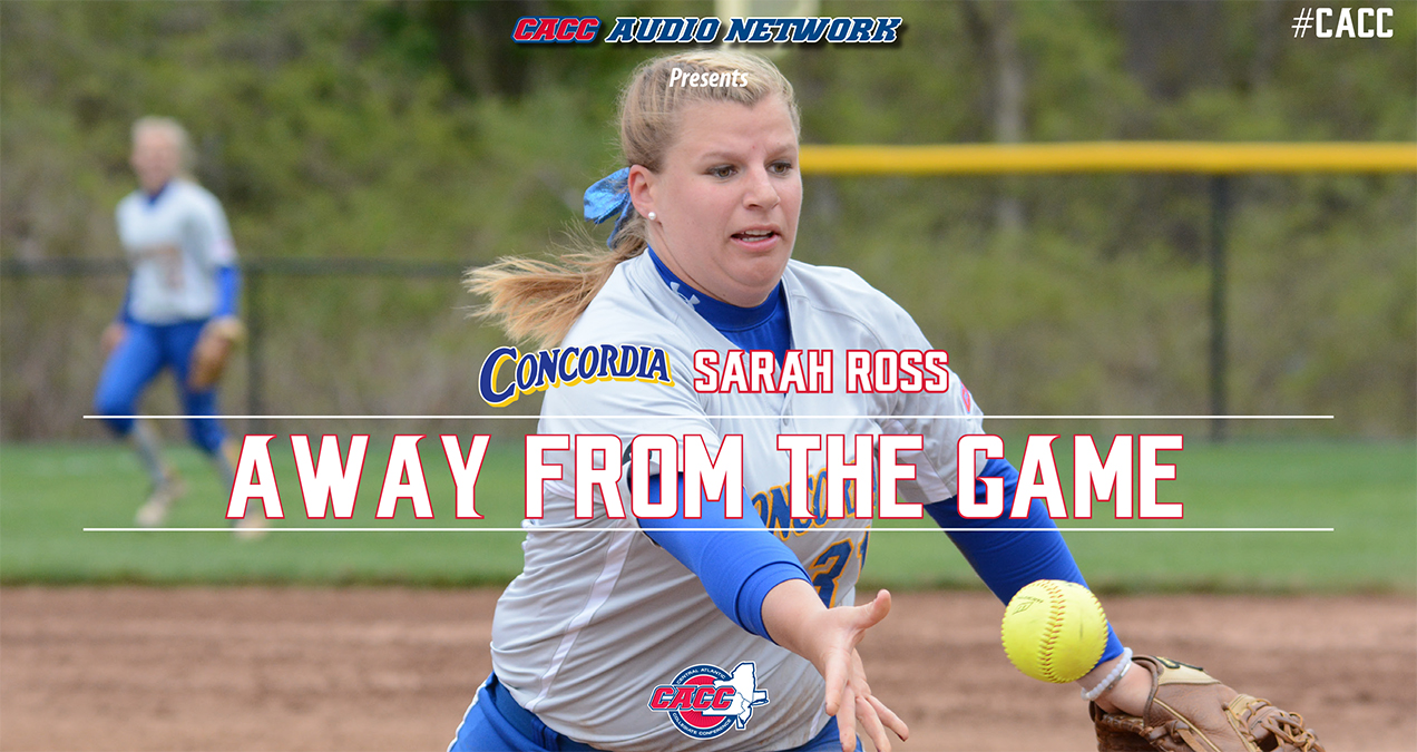 AWAY FROM THE GAME: Podcast with Concordia College's Sarah Ross