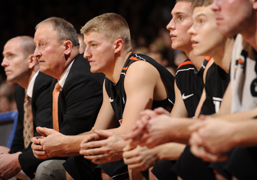 #12 Oilers Come Up Short at GVSU