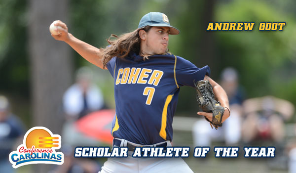 Goot Named Spring Scholar Athlete of the Year