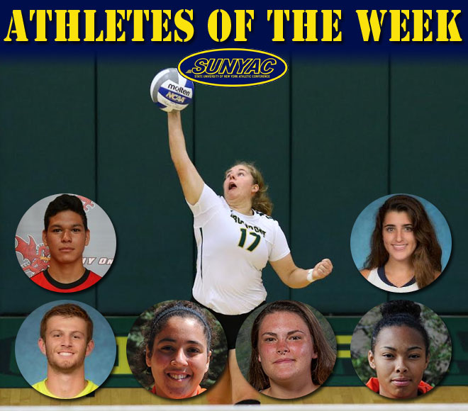 Athletes of the Week selected for field hockey, soccer and volleyball
