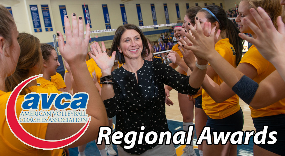 Blugolds earn AVCA regional honors