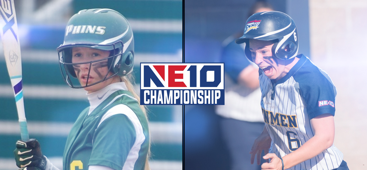 Dolphins, Penmen Advance to NE10 Softball Championship Weekend