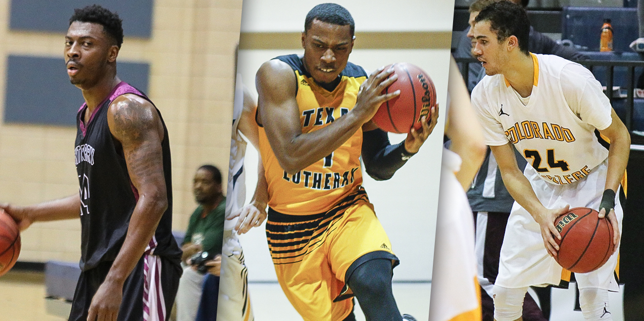 Three SCAC Men's Basketball Players Named to D3hoops.com All-Region Team