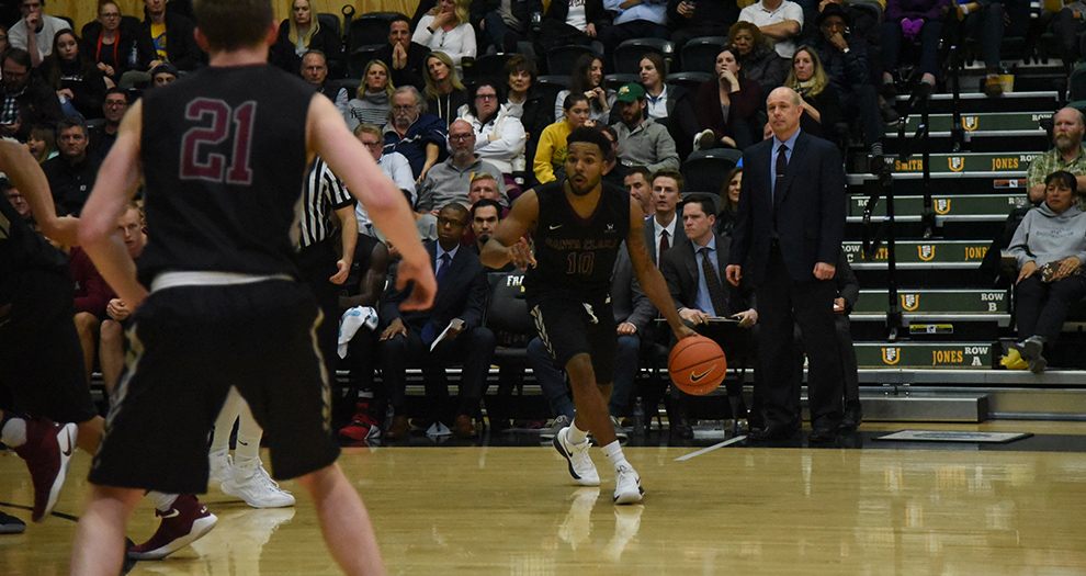 Men's Basketball Finishes Off Homestand, Faces Rival San Francisco Saturday