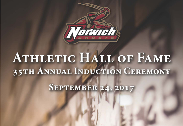 Norwich Athletic Hall of Fame Induction Ceremony