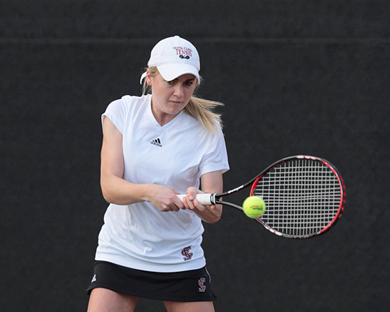 Senior Maggie McGeorge Reflects On SCU Tennis Career