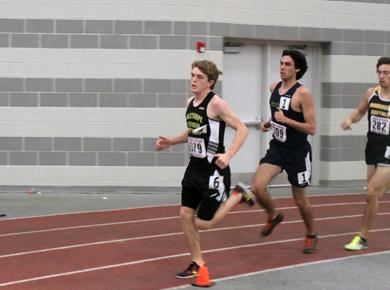 Track Petrels Take to Podium at SCAC Championships