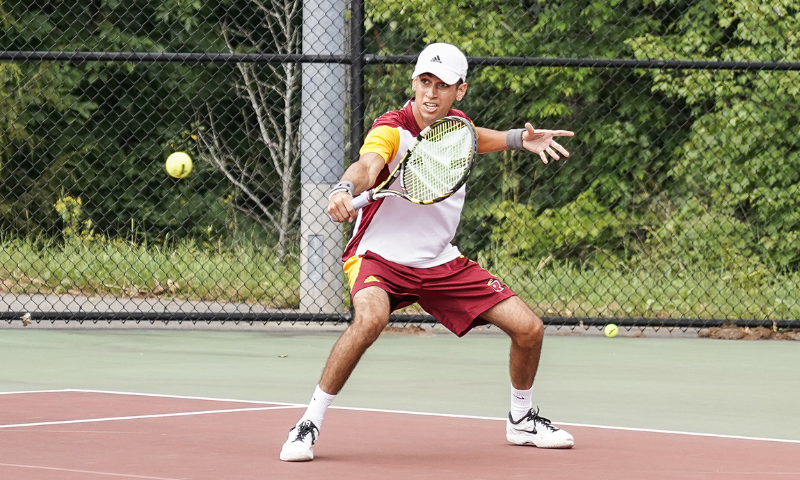 Men's Tennis Earns First Victory