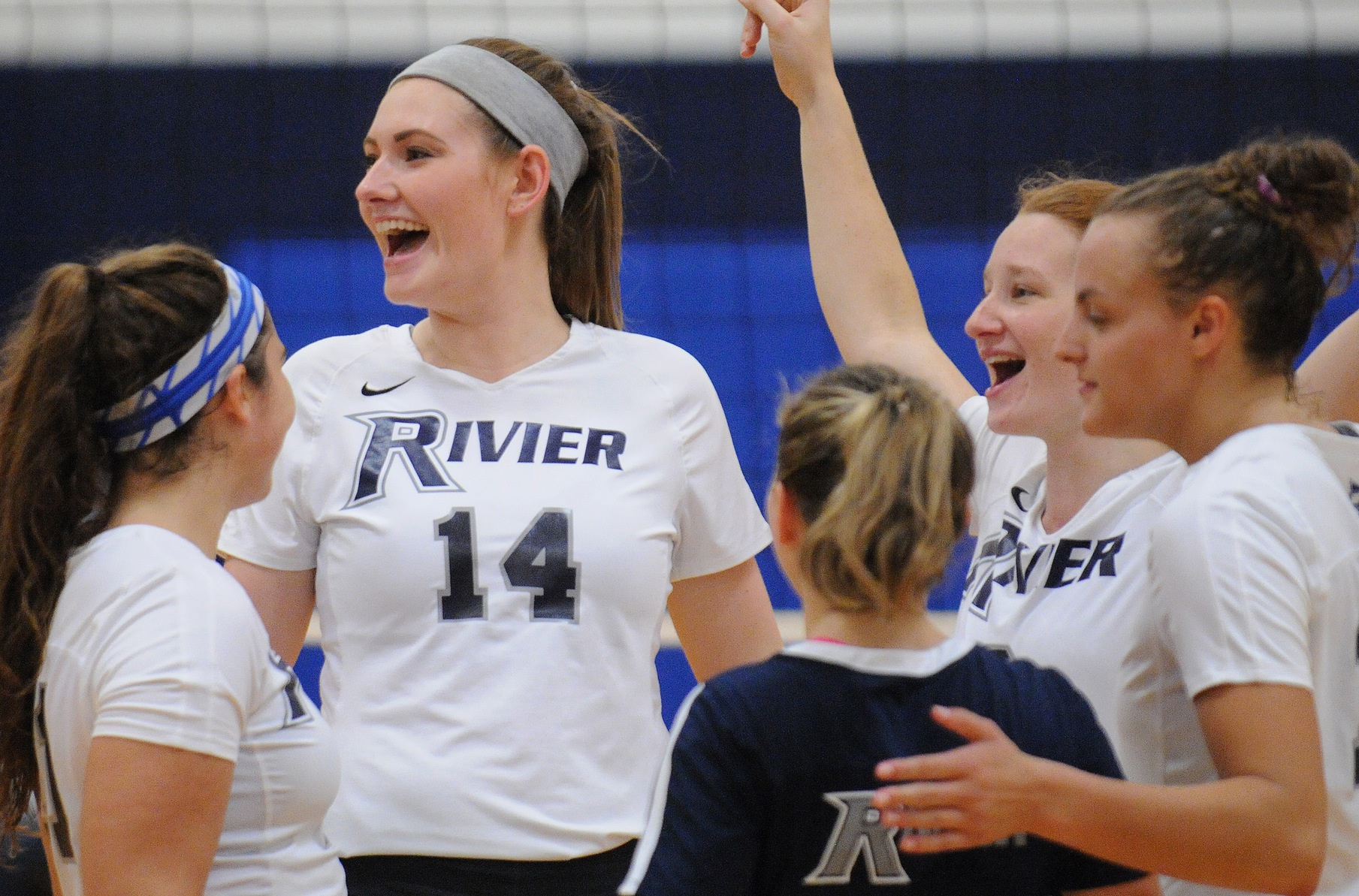 Women's Volleyball: Collins powers Raiders to 3-1 win over Keene State