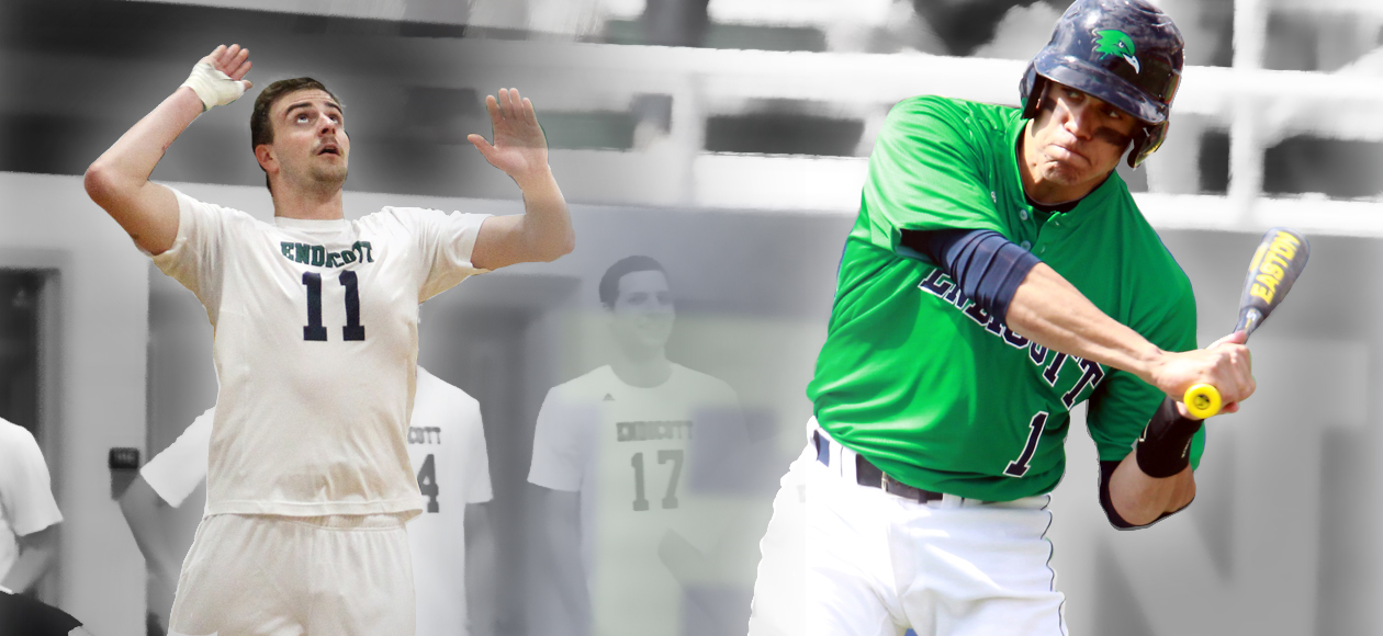 Netherton, Martinez Lock up ECAC Awards in Second Straight Week for Endicott