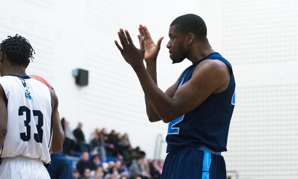 Men's basketball pull away from Niagara in second half
