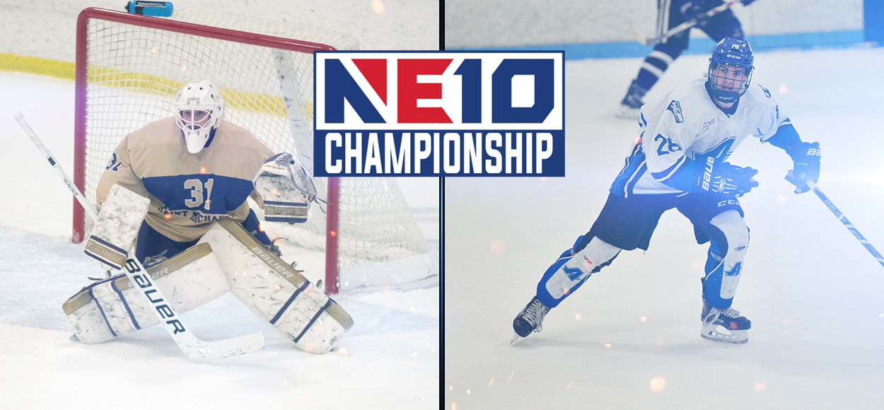 Assumption and Saint Michael's to Meet in NE10 Ice Hockey Championship Game
