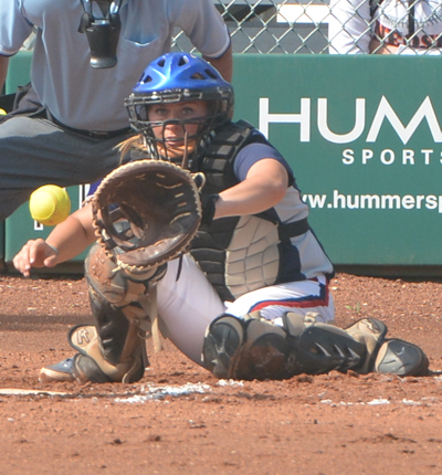 2014 NFCA NJCAA D-II National Catcher of the Year Sarah Rothe