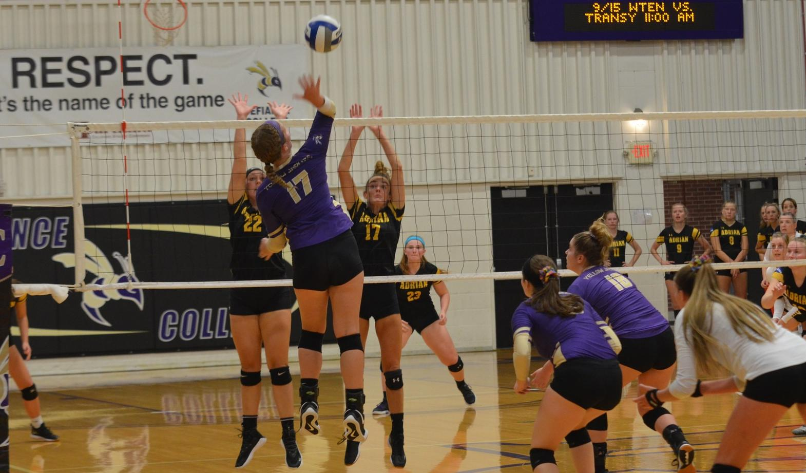 Volleyball Collects Victory in Home Opener