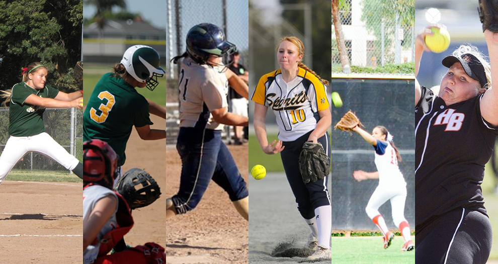 Bronco Softball Incoming Freshmen Finish Strong High School Careers