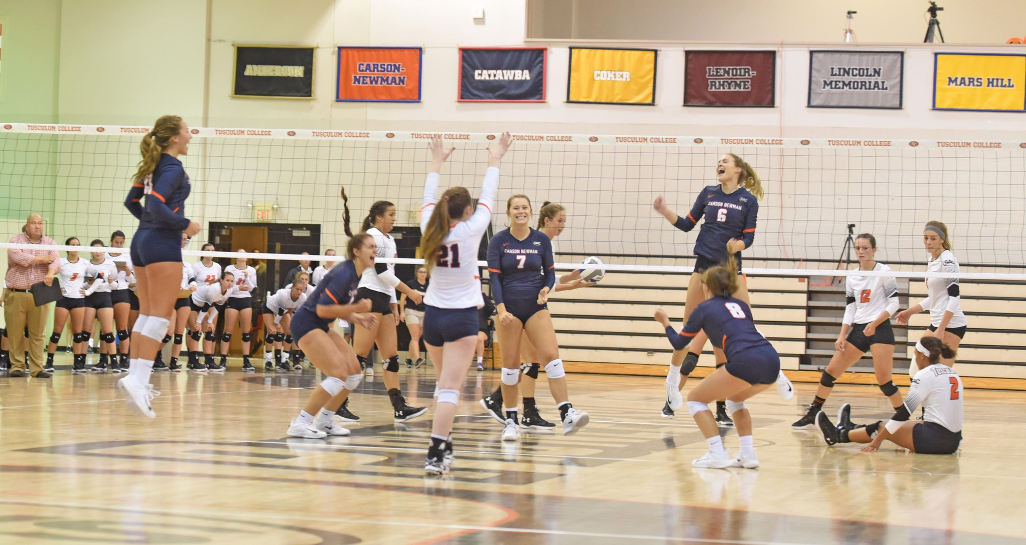Precocious Eagles silence Pioneer Arena in four-set conquest