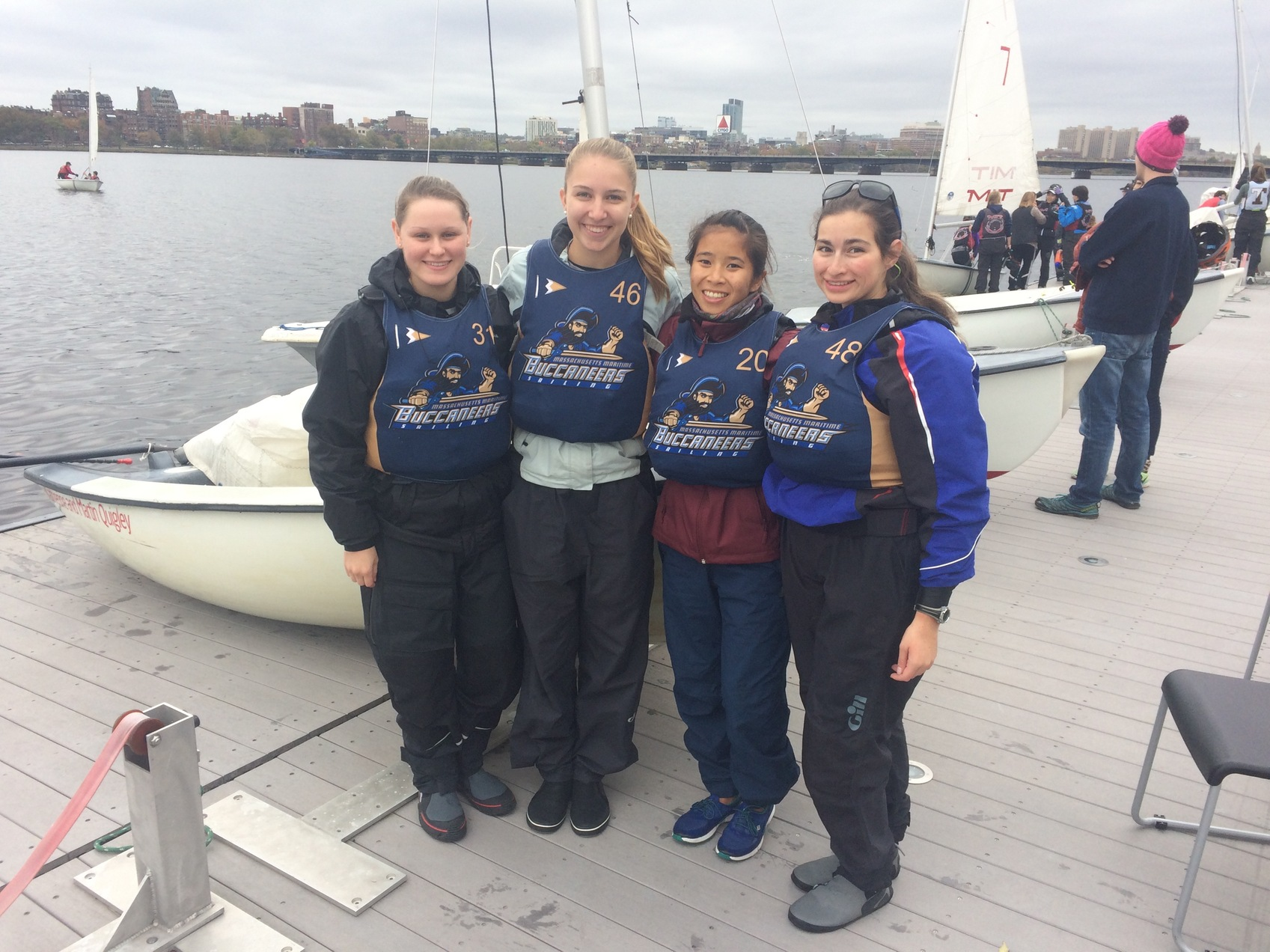 Bucs all female team takes second place at Sailing Regatta on 5 November