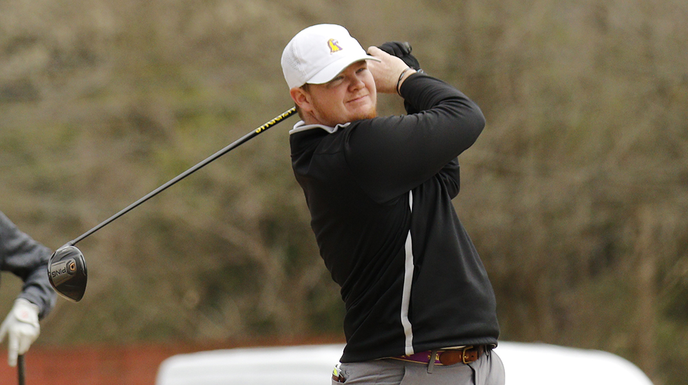 Golden Eagles ranked first with one round to play at Grover Page Classic