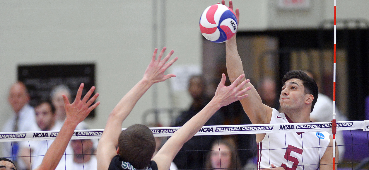 Vega Powers No. 1 Men's Volleyball Past Hope International in Four Sets