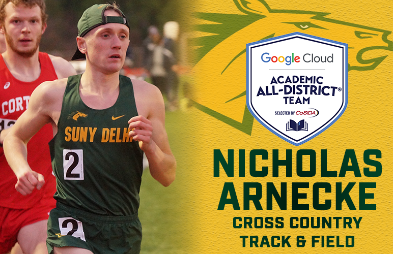 Arnecke Garners Second Straight CoSIDA Google Cloud Academic All-District® Selection