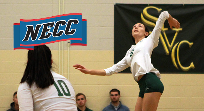 No. 3 Southern Vermont Blanks No. 6 Bay Path in NECC Women's Volleyball Quarterfinals