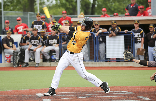 Thompson's Walk-off Single Lifts Tigers to NCAC Championship Game