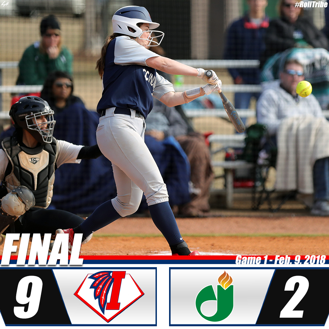 Indians take Game 1 at Jackson State, 9-2