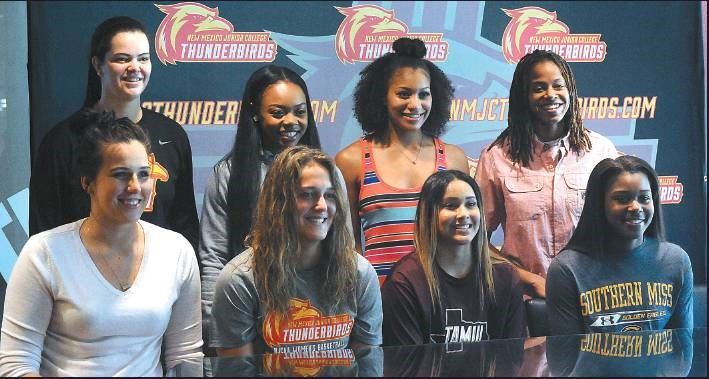 Eight Lady T-Birds moving on to Division I, II college basketball